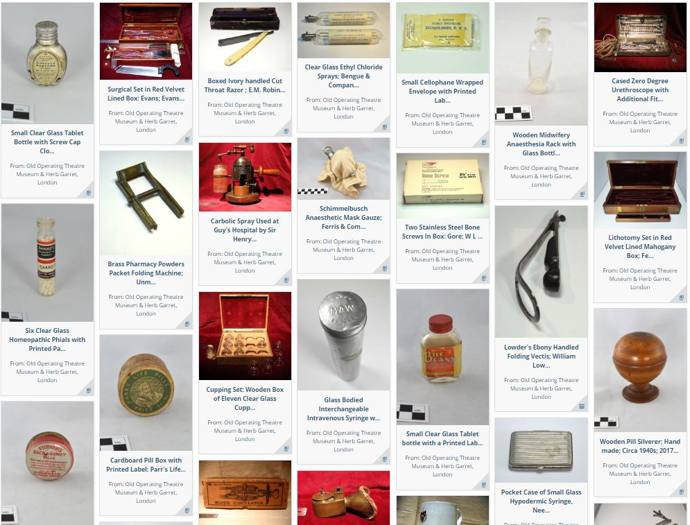 Museum collection on e-Hive