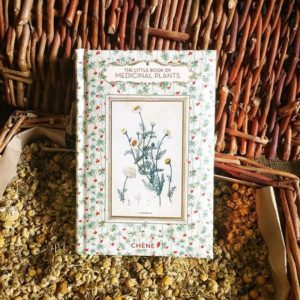 Image of a small book on chamomile about medicinal herbs