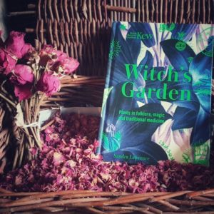 Sill life with roses and The Witch's Garden